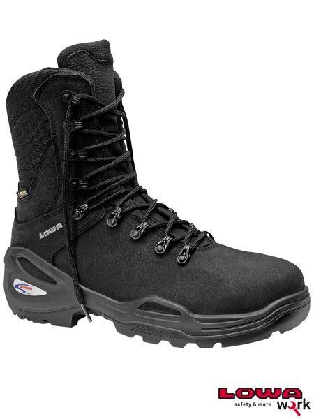 Высокие Защитные ботинки EL-5765 изготовление из гидрофобизированной кожи нубук ELTEN