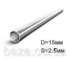 Труба металлическая круглая ВГП ДУ 15x2,5 мм мера