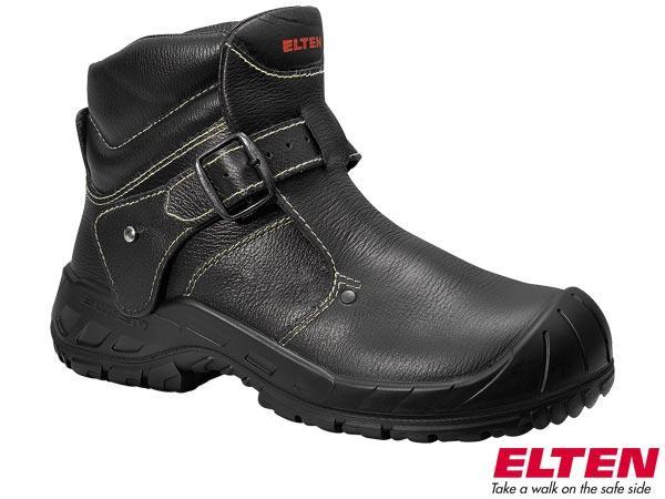 Защитные ботинки EL-64461 изготовлены из бычьей кожи ELTEN CARL.