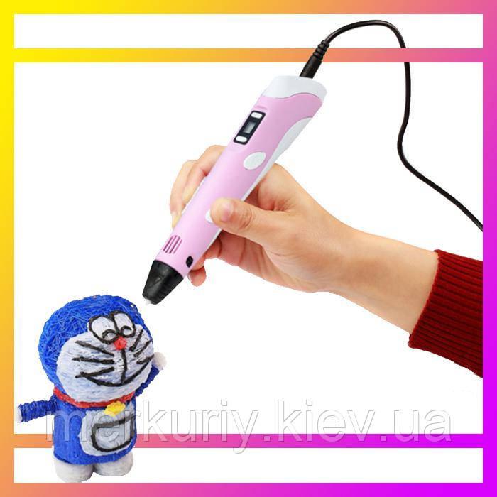 3D ручка MyRiwell з LED дисплеєм 3д для дітей