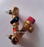 Гидроузел в сборе на газовый котел Ferroli Domina, Domitop39808630 38410450, фото 5