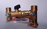 Гидроузел в сборе на газовый котел Ferroli Domina, Domitop39808630 38410450, фото 6