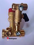 Гидроузел в сборе на газовый котел Ferroli Domina, Domitop39808630 38410450, фото 7