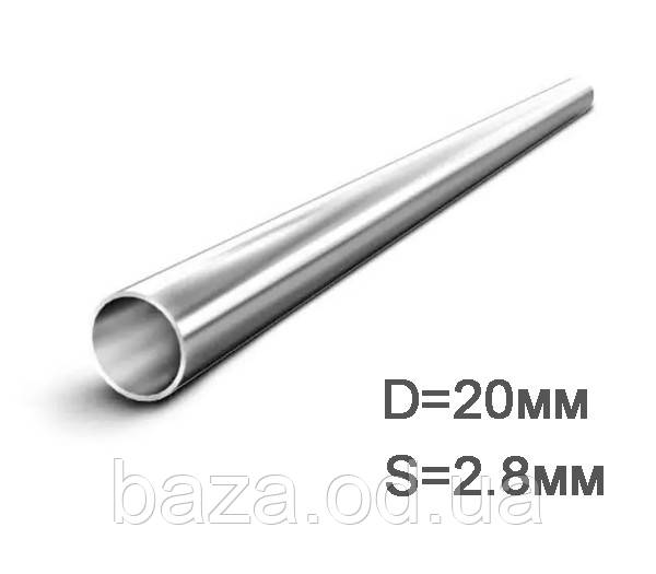 Труба металлическая круглая ВГП ДУ 20x2,8 мм мера