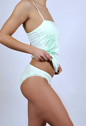 Жіночий комплект З+3 011 S Зелений, фото 2