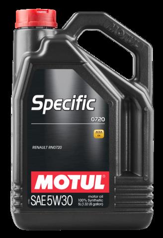 102209/SPECIFIC 0720 SAE 5W30 (5L)/102209