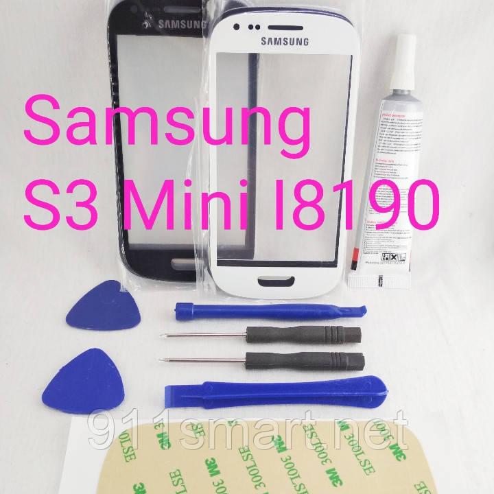 Стекло сенсорный дисплей Samsung Galaxy S3 Mini i8190