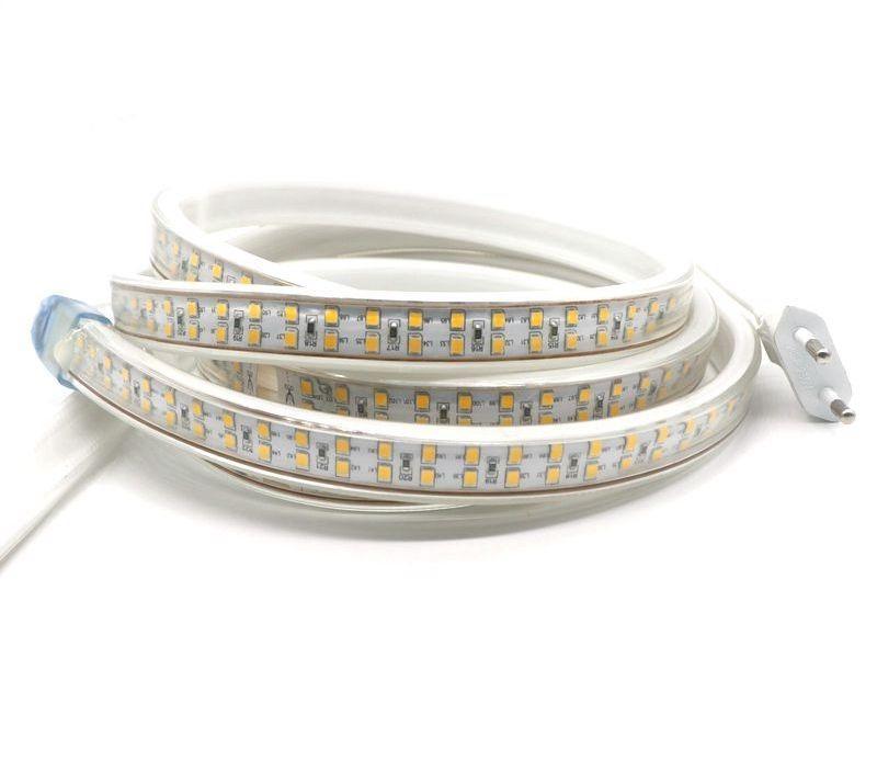 Светодиодная LED лента гибкая 220V PROlum™ IP68 2835\180 Premium