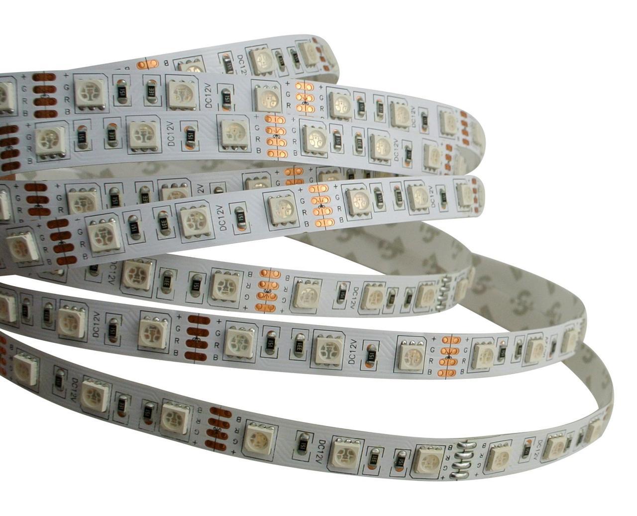 Светодиодная LED лента гибкая 12V PROlum™ IP20 5050\60 Standart, фото 1
