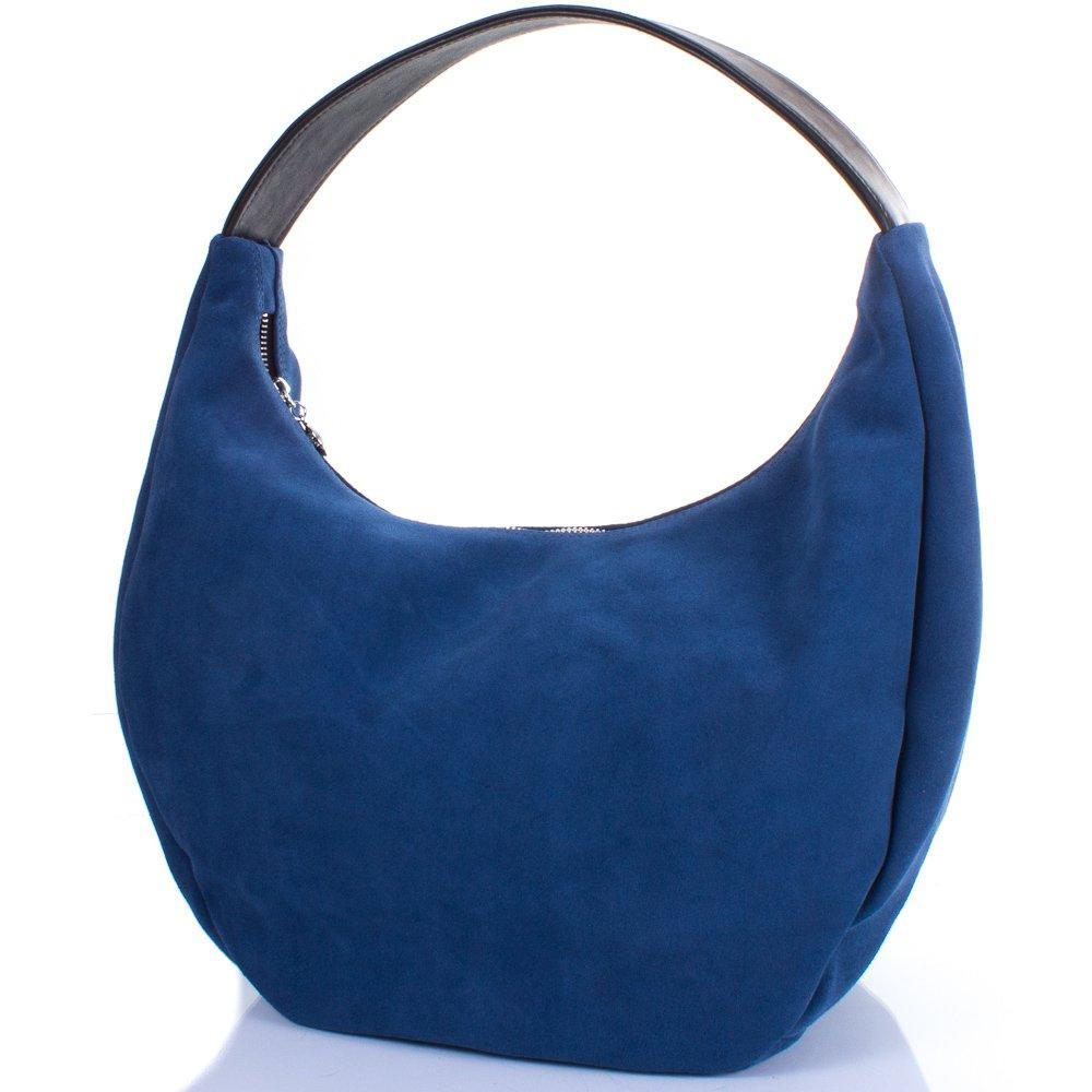 Сумка-баул (хобо) Gala Gurianoff Женская дизайнерская замшевая сумка GALA GURIANOFF (ГАЛА ГУРЬЯНОВ) GG1310-5