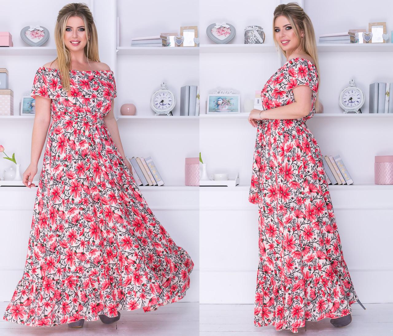 Платье женское 1056,1ки батал