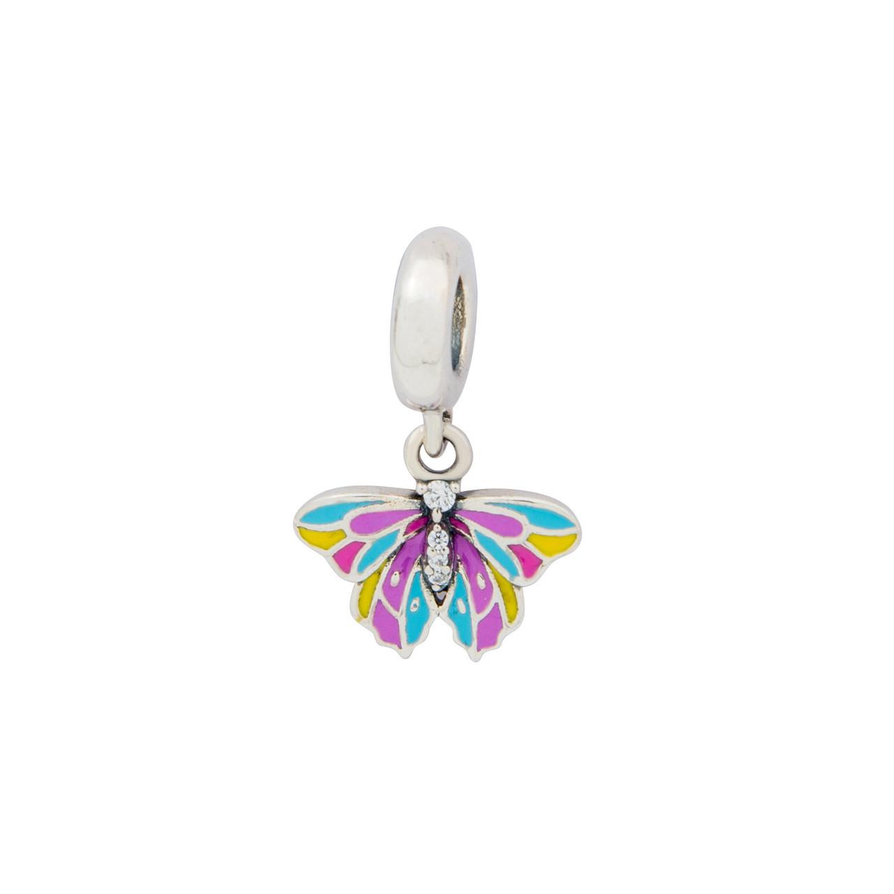 Серебряная подвеска бабочка Барбарис