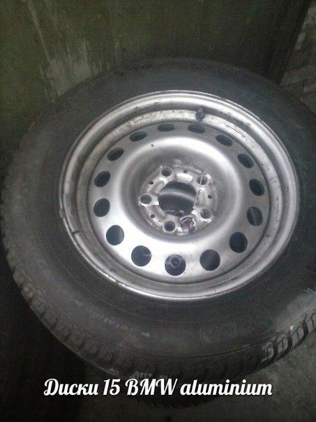 Диски Б/У 15/5*120/18 7j BMW Алюминиевые бу серые (как металл)