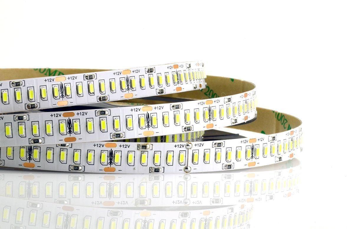 Светодиодная LED лента гибкая 12V PROlum™ IP20 3014\240 Standart PLUS, фото 1