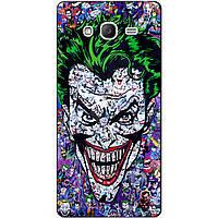 Силиконовый чехол с рисунком для Samsung Galaxy Grand Duos i9082/i9060 Джокер