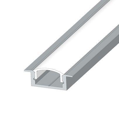 Алюминиевый Профиль PROLUM™ - Врезной, Без анодирования (Комплект)