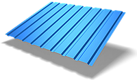 Профнастил стеновой ПС-8 (Китай, PE, 0,4 мм)
