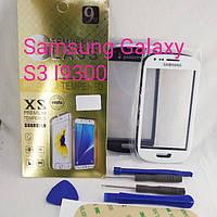 Скло сенсорний дисплей Samsung Galaxy S3 I9300 набір для заміни