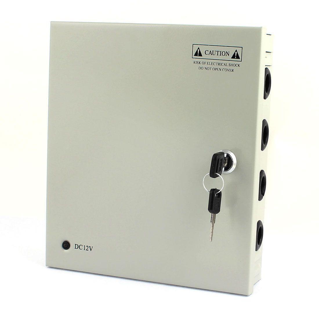 """Блоки питания (в металлическом боксе) PROLUM 60W 12V (IP20,5A,9CH) Series """"CCTV"""""""