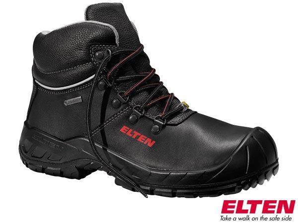 Pабочая обувь EL-765491 изготовлены из бычьей кожи черного цвета ELTEN