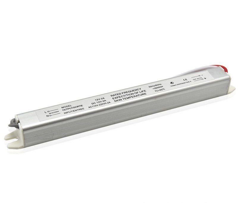 Блок питания импульсный PROLUM Slim 24W 12V (IP65,2A)