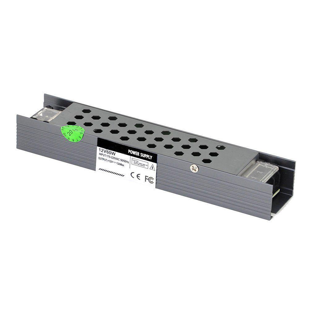 """Блок питания импульсный PROLUM Slim 60W 12V (IP20,5A) Series """"SP"""""""