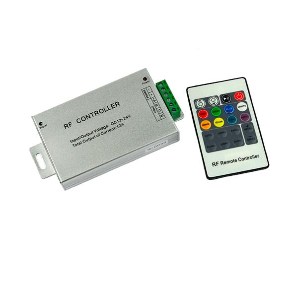 Контроллер RGB PROLUM радио (RF, 20 кнопок 24A)