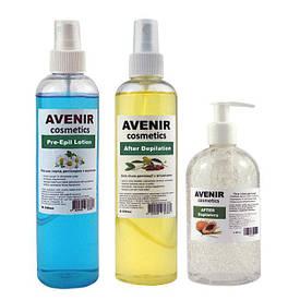 Набор средств до и после депиляции и бритья AVENIR 340/250/250 мл