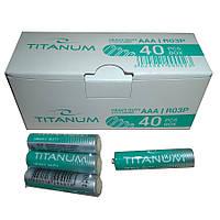 Батарейка ААА TITANUM комплект 40 единиц