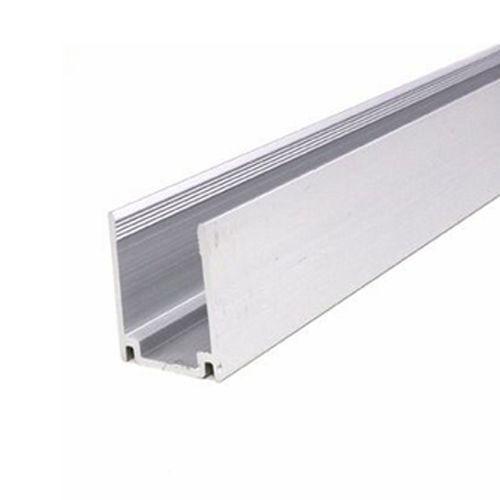 Алюминиевый профиль не анодированный (1м) для неона 8x16, фото 1