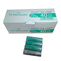 Батарейка АА TITANUM комплект 40 единиц