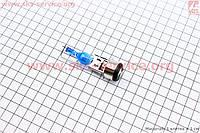 """Лампа для фары H6 BA20D 12V 18/18W """"super"""" синяя """"свеча"""""""