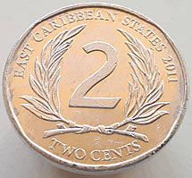 Східні Кариби 2 центи 2011