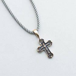 Золотой крестик п02992