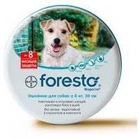 Bayer Foresto (Форесто) - Ошейник от клещей, блох, вшей и власоедов для кошек и собак весом менее 8 кг  38см, фото 1
