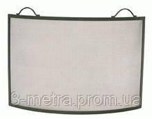 kamino flam 337112 Решетка защитная для камина, сталь полукруглая, металлик 81,5x61,5 cм kamino flam