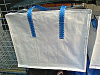 Сумка хозяйственная белая  50 х 45 х 28 см