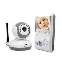 """Беспроводная видеоняня с 2.4"""" монитором и 2-х сторонней аудиосвязью (модель JLT-9020D), фото 1"""