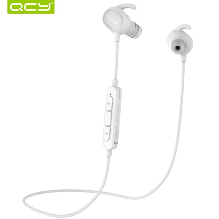 Беспроводные наушники (гарнитура) QCY QY19 IPX4 White