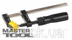 "MasterTool  Струбцина столярная тип ""F""  250* 50 мм, 1700Н, деревянная ручка, DIN5117, Арт.: 07-0002"
