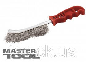 MasterTool  Щетка проволочная с пластиковой ручкой, Арт.: 14-5523