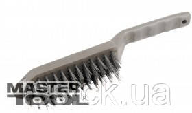 MasterTool  Щетка проволочная  6-рядная с пластиковой ручкой, Арт.: 14-5506, фото 2