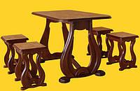Стол с табуретками Реал, фото 1