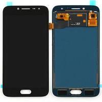 Дисплей для Samsung J250F Galaxy J2 (2018) с тачскрином черный, Оригинал Amoled