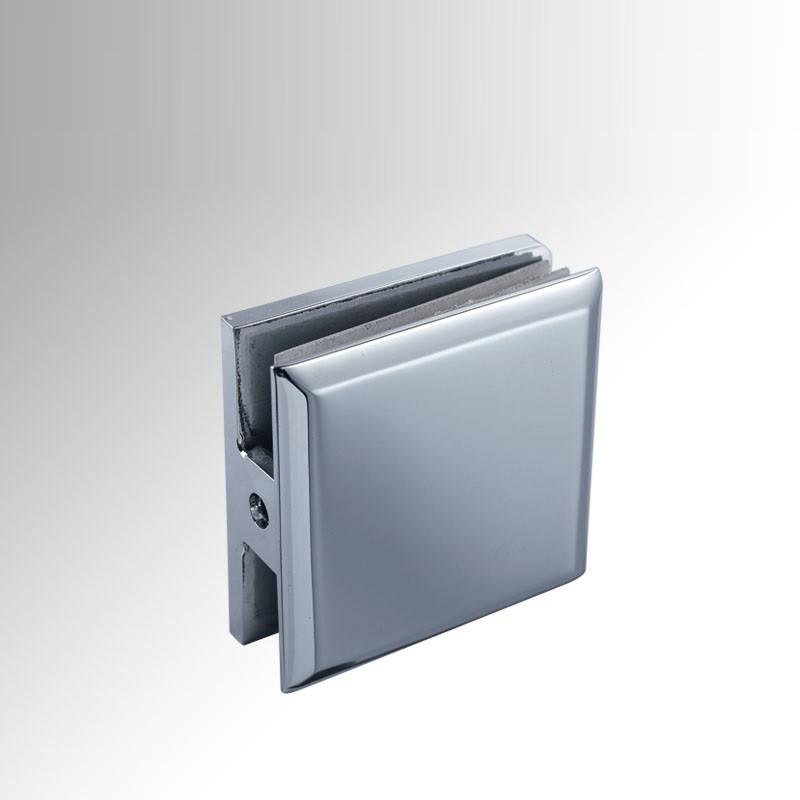 Крепление мебельное для стекла стеклодержатель HDL-721 СТЕНА-СТЕКЛО (нержавейка)
