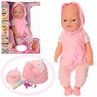 Детская кукла пупс для девочек с аксессуарами 42 см