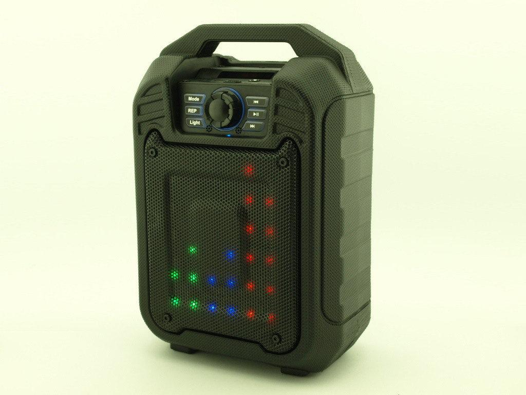 "Портативная колонка мини чемодан Bluetooth+светомузыка 32*21*13,5 см 9ватт ""B15A"""