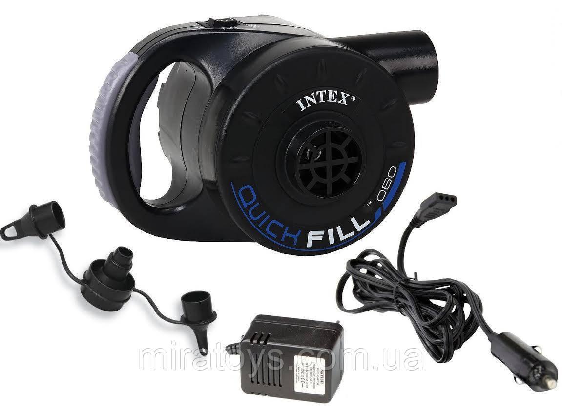 ✅Насос Intex 66622 з акумулятором 3 в 1 12/220 в