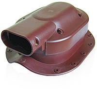 Проходной элемент солнечных батарей Kronoplast PSBW для металлочерепицы среднего 30мм профиля