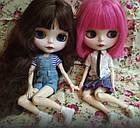 Шарнирная кукла Блайз (Айси), розовый цвет волос + 10 пар кистей, одежда и обувь в подарок, фото 9
